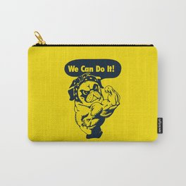 We Can Do It Pug Carry-All Pouch