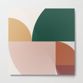 Abstract Geometric 11 Metal Print