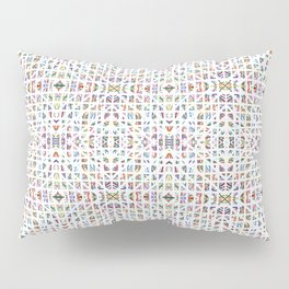 Interrupted Rainbow - a subtle rainbow of colors Pillow Sham