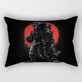 Hail Zilla Rectangular Pillow