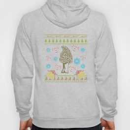 Morel Mushrooms Christmas Ugly Sweater Design Shirt Hoody