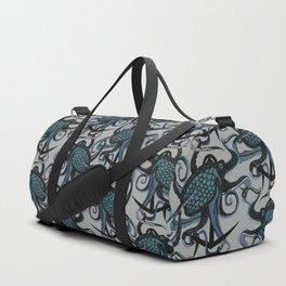 octopus ink smoke Duffle Bag