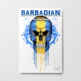 To The Core Collection: Barbados Metal Print