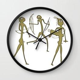 hunters Wall Clock