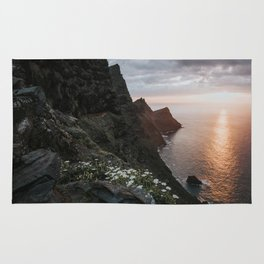 Ocean Sunset - Landscape and Nature Photography Rug