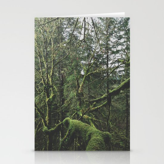 Moss Covered Trees Stationery Cards