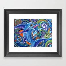 Abstract Marlin Framed Art Print