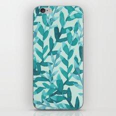 Lush Blue iPhone & iPod Skin