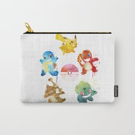 Watercolor pocket monsters Carry-All Pouch