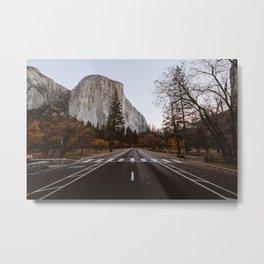 autumn valley Metal Print