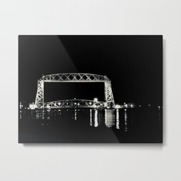 Night Time Scene Metal Print