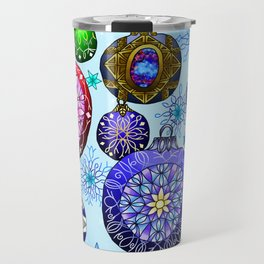 Christmas Artwork #4 (2018, No Glow) Travel Mug
