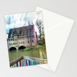 An Abstract Sight of Nuremberg Stationery Cards