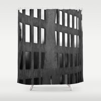 metal Shower Curtains featuring Metal by CarienMoore