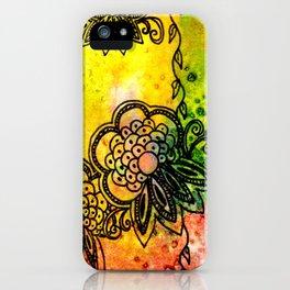 Henna Fantasia Exotic iPhone Case