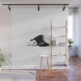 Sleepy Panda Wall Mural
