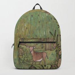 Deer in Woodland Backpack