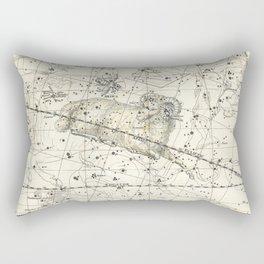 Aries Constellation Celestial Atlas Plate 13 Rectangular Pillow