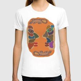 He, she and lizards T-shirt