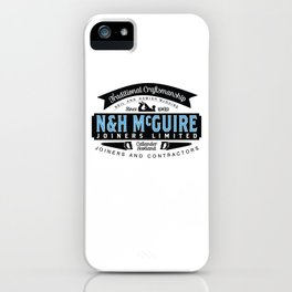 N&H McGuire Joiners Ltd. iPhone Case