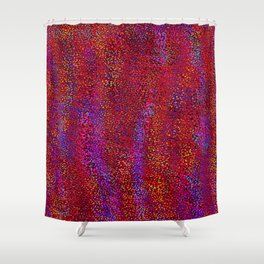 field of squares 3 Shower Curtain