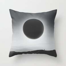 Voyager - A Dive into Space and Universe Throw Pillow