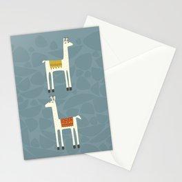 Everyone lloves a llama Stationery Cards