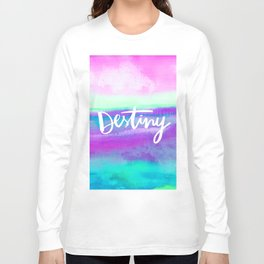 Destiny [Collaboration with Jacqueline Maldonado] Long Sleeve T-shirt