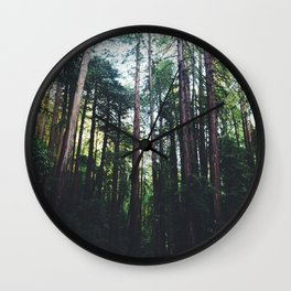 Muir Woods, California II Wall Clock
