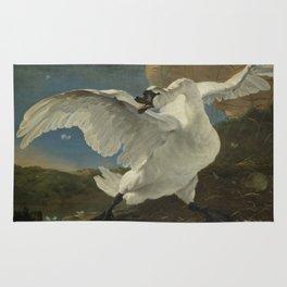 An Asselijn - The Threatened Swan Rug