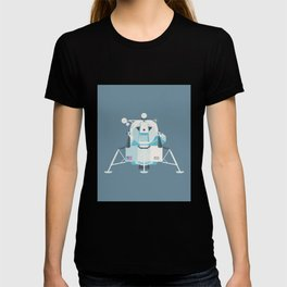 Apollo 11 Lunar Lander Module - Plain Slate T-shirt