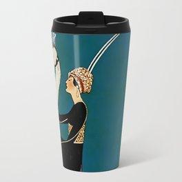 George Wolfe Plank Art Deco Magazine Cover #7 Travel Mug