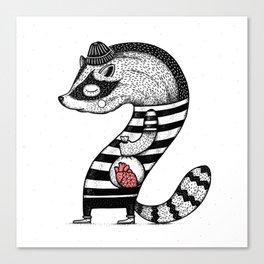 Heart thief Canvas Print