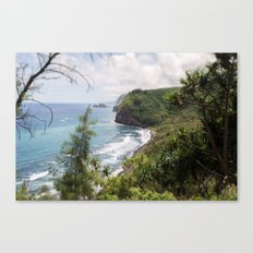 Pololu valley Canvas Print