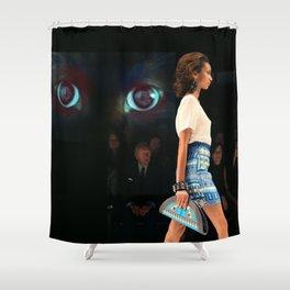 catwalk 003 Shower Curtain