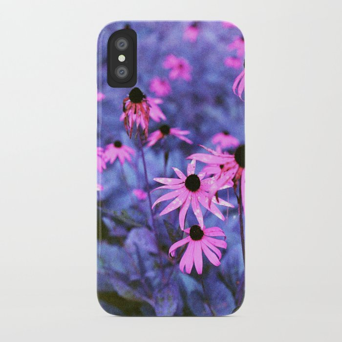 Fall Flowers in New Hampshire iPhone Case