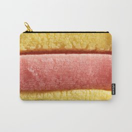 Yellow Light Red Colored Bubble Gum Carry-All Pouch