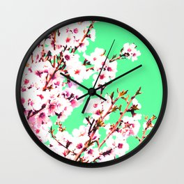 Sakura XII Wall Clock
