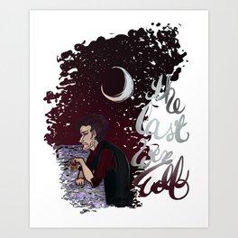 The Last Werewolf Art Print