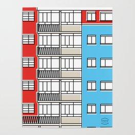 Edificio Canaima -Detail- Poster