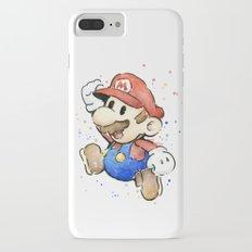 Mario Watercolor iPhone 7 Plus Slim Case