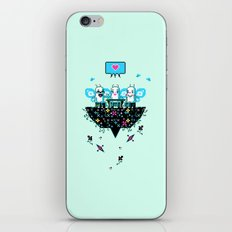The Social Butterflies iPhone & iPod Skin
