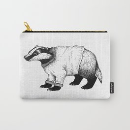 Winter Badger Carry-All Pouch