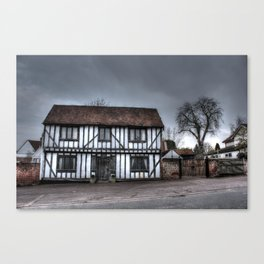 Laneham House HDR Canvas Print