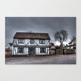Laneham House HDR Canvas Print
