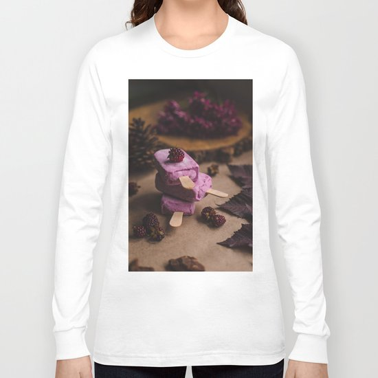 vegan ice cream Long Sleeve T-shirt