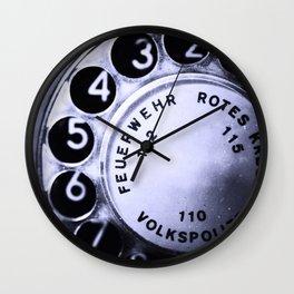 telefon Wall Clock