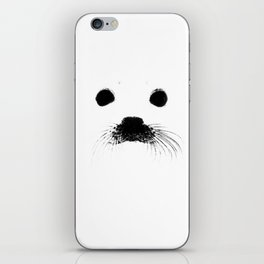 Seal your face iPhone Skin