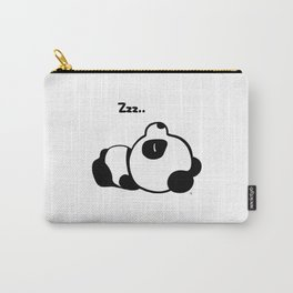 Sleeping Baby Panda Kawaii AWWW! Carry-All Pouch
