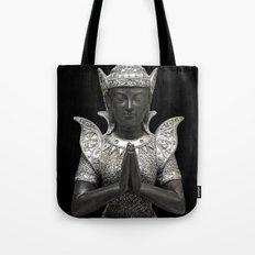 silent prayer Tote Bag